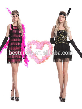 Walson Cheap sex xxx movies New Ladies 1920s Great Gatsby dress Black Flapper Ladies 20s Fancy  sc 1 st  Alibaba : great gatsby female costumes  - Germanpascual.Com