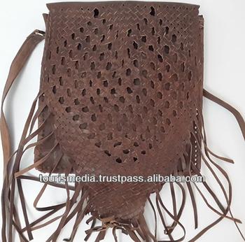 Brown Moroccan Handmade Shoulder Bag Braided Leather Bags - Buy Handmade  Leather Bags,Leather Bags Women,Braided Leather Bags Product on Alibaba com