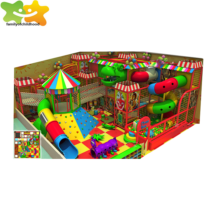 Educational indoor unique design children playground equipment