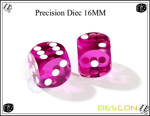High Quality Professional Casino Precision Backgammon Dice 16MM ... 9cedc80ed9868