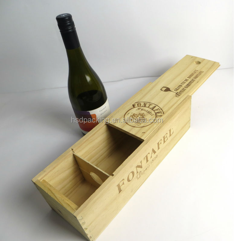 Wholesale Wooden Wine Bottle Box /wooden Wine Gift Box/gift Boxes ...