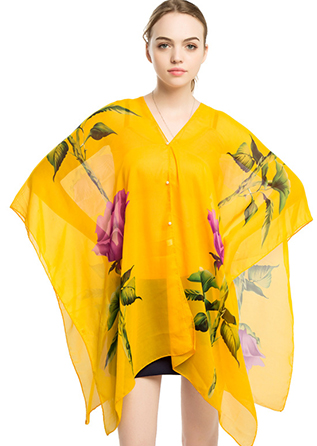 New products 2018 popular design new style beach cover up