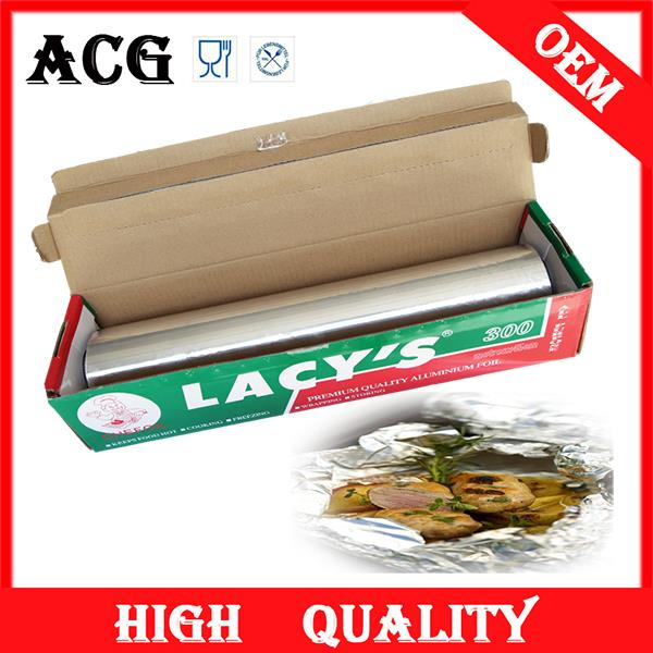 summer aluminum foil laminated paper for food wrapping for food