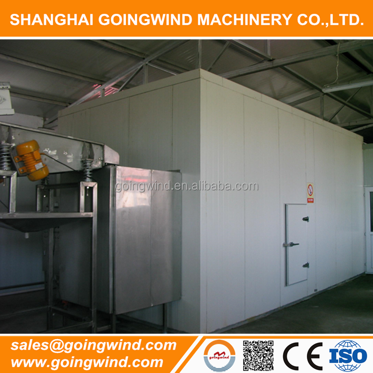 Good price automatic fluidized bed IQF tunnel freezer for sale