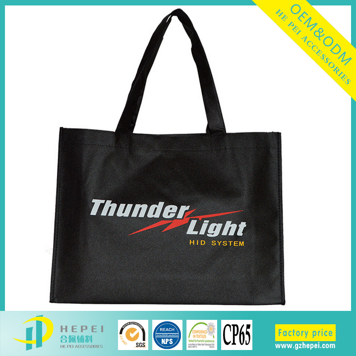Promotional pp coated custom printed recycled grocery non woven gift bag