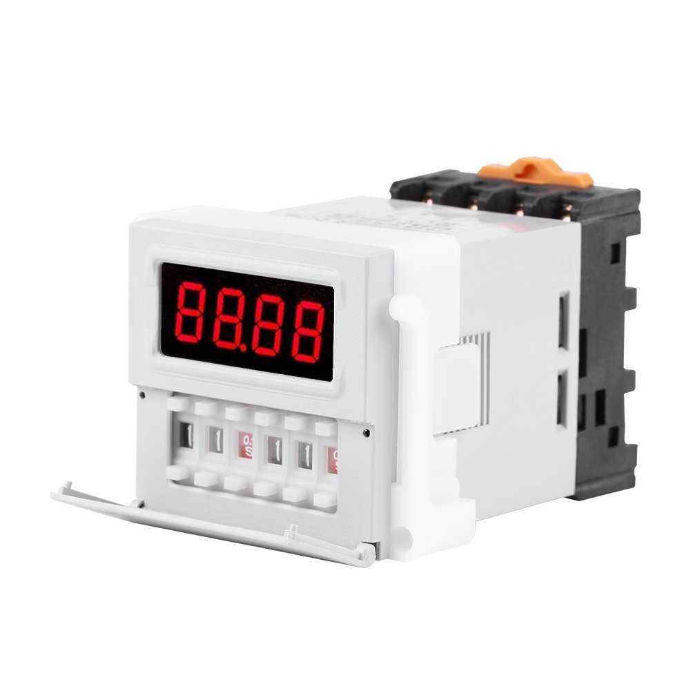 Buy Mini Timer Time Delay Relay 1 Sec To 4 Hours  12v 8a