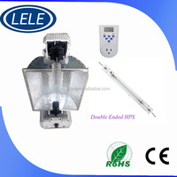 Hydroponics indoor grow 1000w double end high prssure sodium lamp with ballast,timer.reflector