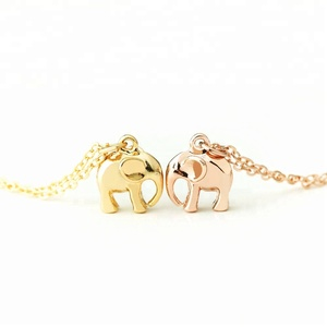 3D Elephant Jewelry Pendant Mini Cute Animal Jewelry Women's Elephant Pendant
