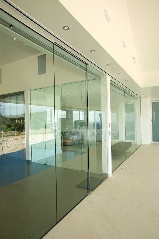 Aluminum Automatic Sliding Glass Door For Commercial Buy