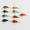 Buy 4 5cm 4g Transparent Plastic Fishing Lures Minow Crankbaits 3D Fish Eye Artificial Lure Bait