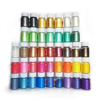 30, 50 colours 10g mica powder bottle for Epoxy resin art, Jewelry,bath bomb, hand Soap Making Colorant , Eye Shadow