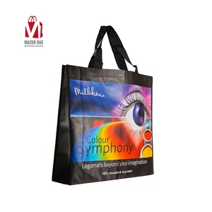 China manufacturer Multifunctional Custom Logo Print Reusable Non Woven Shopping with Tote Bag