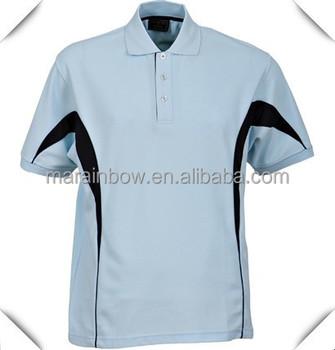 Hot selling high quality pima cotton men 39 s golf custom for Name brand golf shirts