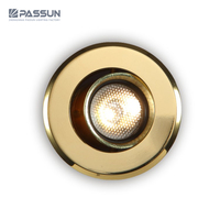 factory wholesale price gold ceiling recessed mounted small spot light mini size 3w led spotlight