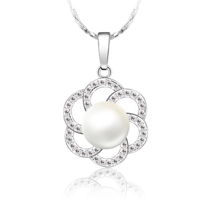 XN4113 xuping flower cheap imitation fresh water artificial pearl necklace