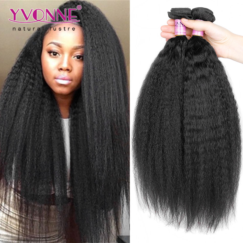 Top Grade 100 Virgin Hair Brazilian Kinky Straight Hair Buy Kinky