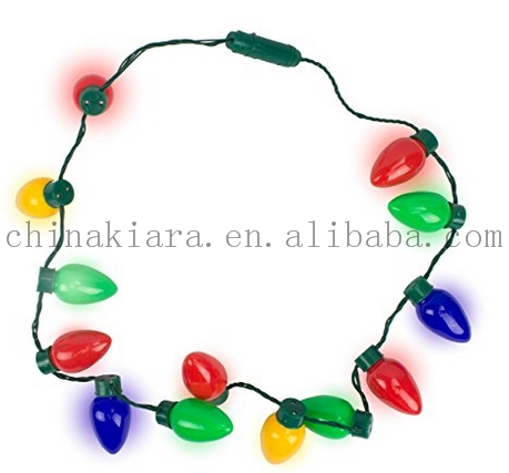 High Quality Christmas Bulb Necklace