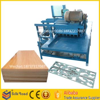 Sanding Machine For Wooden Furniture / Polish Plywood Sander Machine