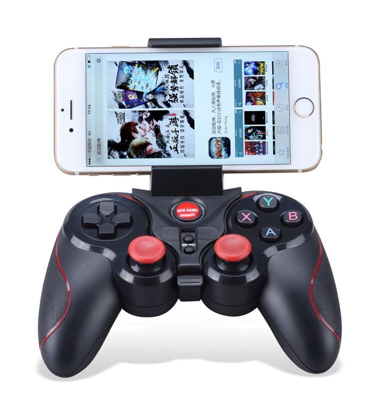 new s5 wireless android bluetooth joystick for mobile phone and TV games