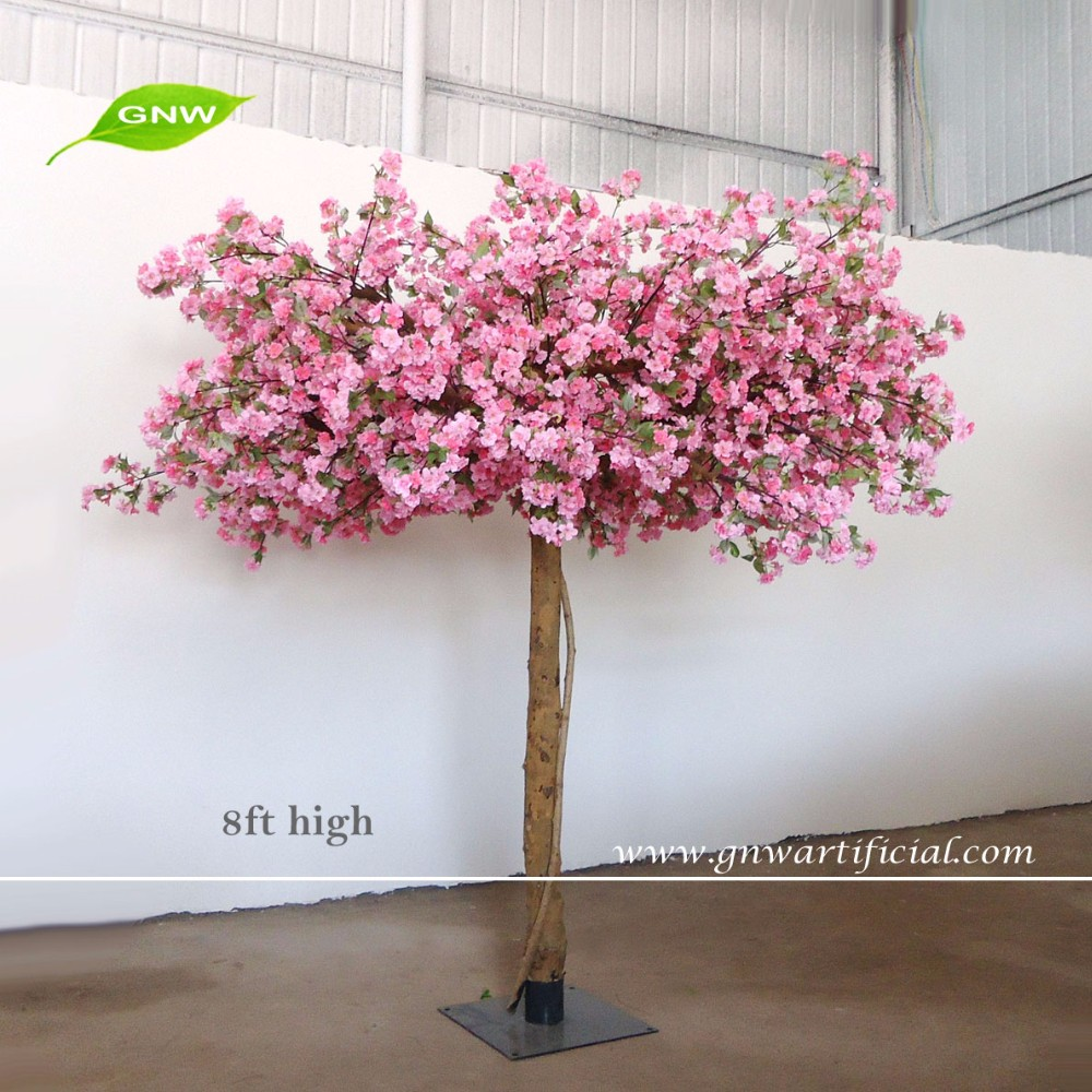Gnw bls1512002 high similation white artificial cherry for Cherry trees for sale