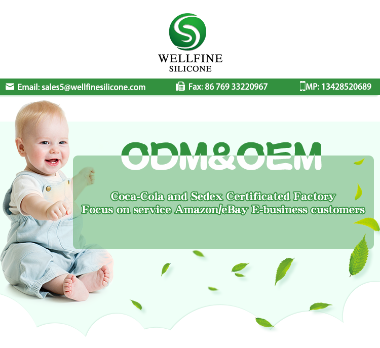 Amazon Venta caliente impermeable de silicona suave babero del bebé para la venta