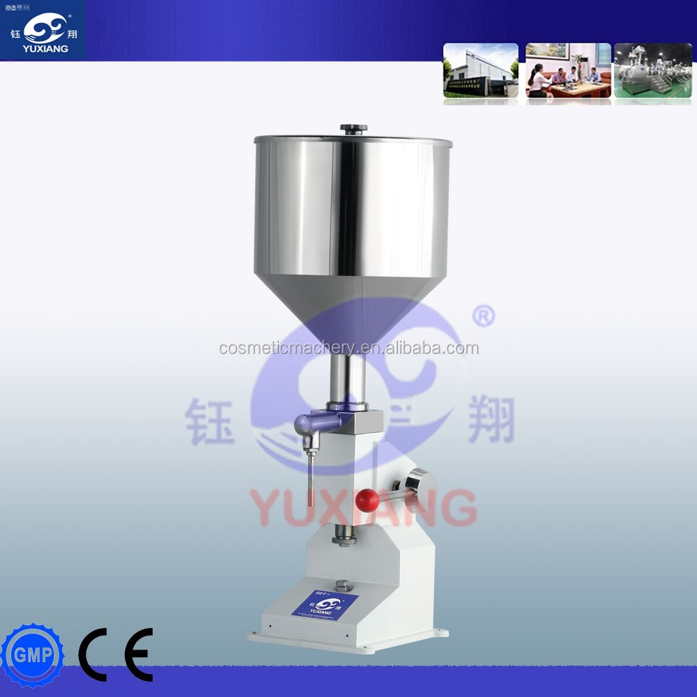 Yuxiang cream lotion manual liquid filling <strong>machine</strong>