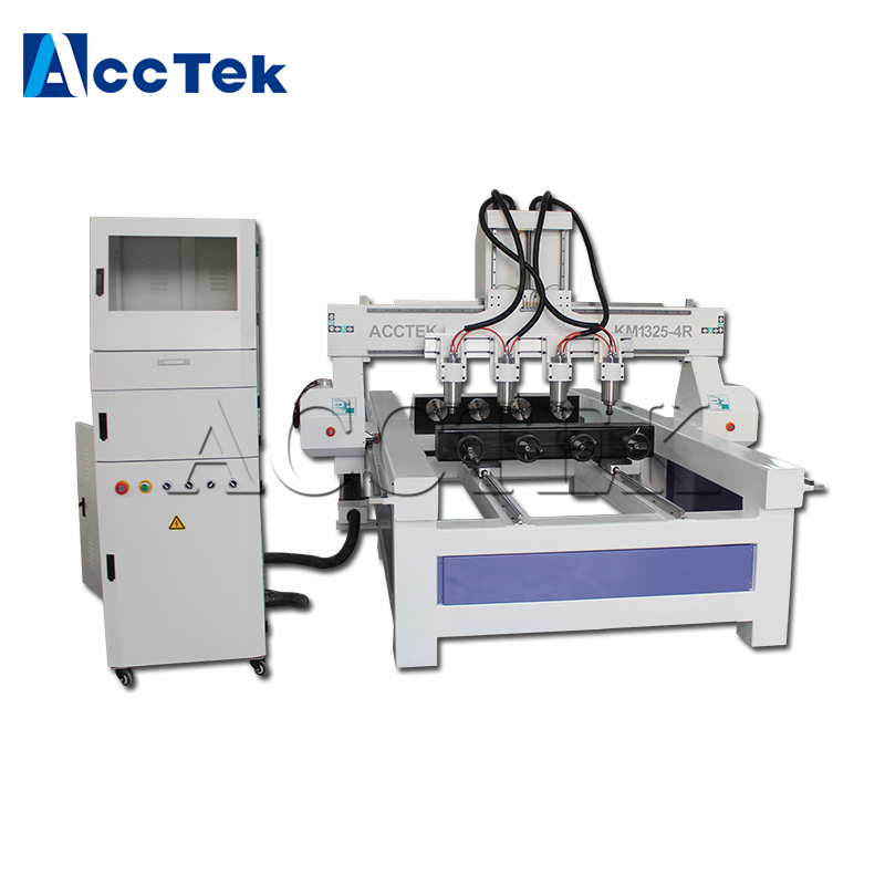 Jinan AccTek cheap 3d cnc engraving machine AKM1325-4R