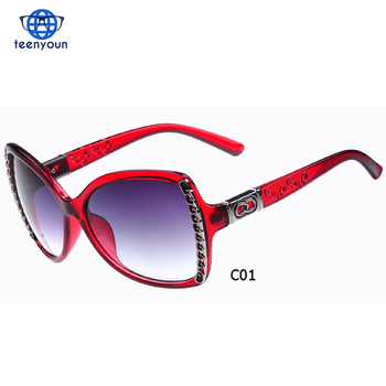 6c7af268002e 2017 New European Big Frame Anti UV Fashion Retro Classic Sunglasses Cat  Eye Sunglasses Women Eyeglasses