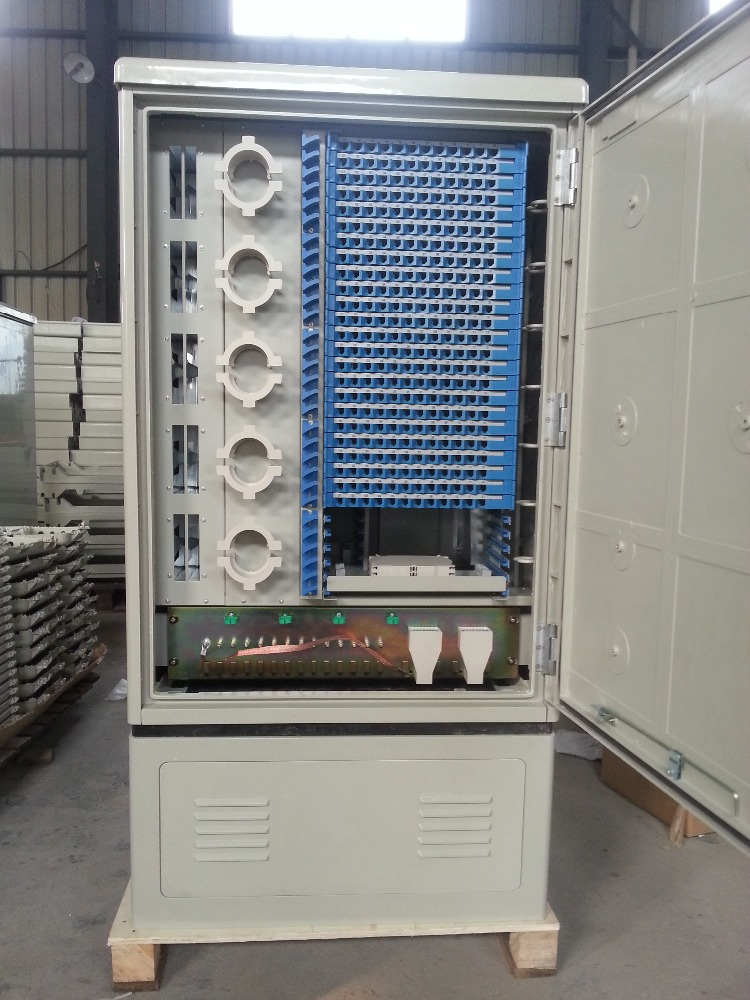 288 cord Optic fiber cable connection cabinet Manufacturer