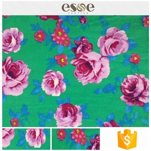 Latest design Free Sample bulk sale oem floral printed fabrics 100% cotton for hot night dress