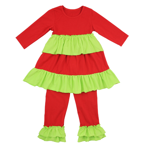 Nieuwe collectie baby kleding groothandel remake outfits Kerst kinderen boutique kleding fall 2019