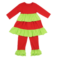 New arrival baby clothes wholesale remake outfits Christmas children boutique clothing fall 2019