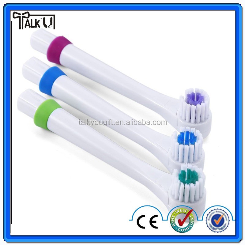 Revolving Electric Toothbrush with 4 Teeth Brush Heads Oral Hygiene Dental Care