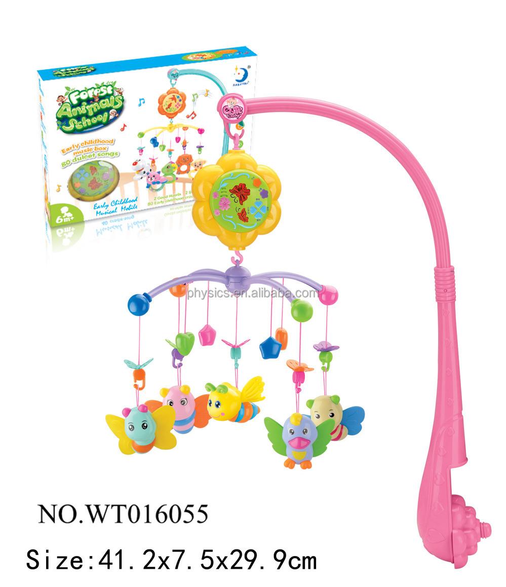 lernen sch ne baby bedbell mit spieluhr f r kinder baby mobilen spielzeug baby spielzeug. Black Bedroom Furniture Sets. Home Design Ideas