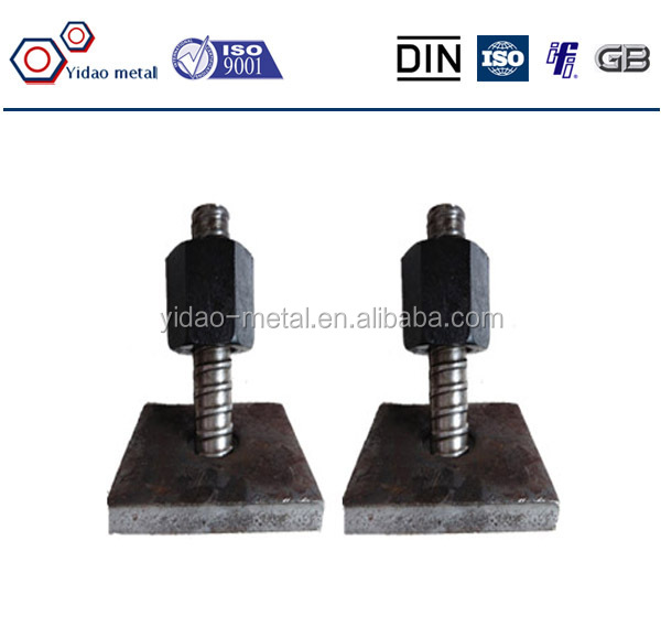 High Quality Soil Nail With Anchor Nut And Anchor Plate China ...