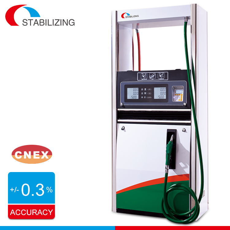 High accuracy petrol filling equipment mechanical fuel dispenser and electric fuel pump for gas station
