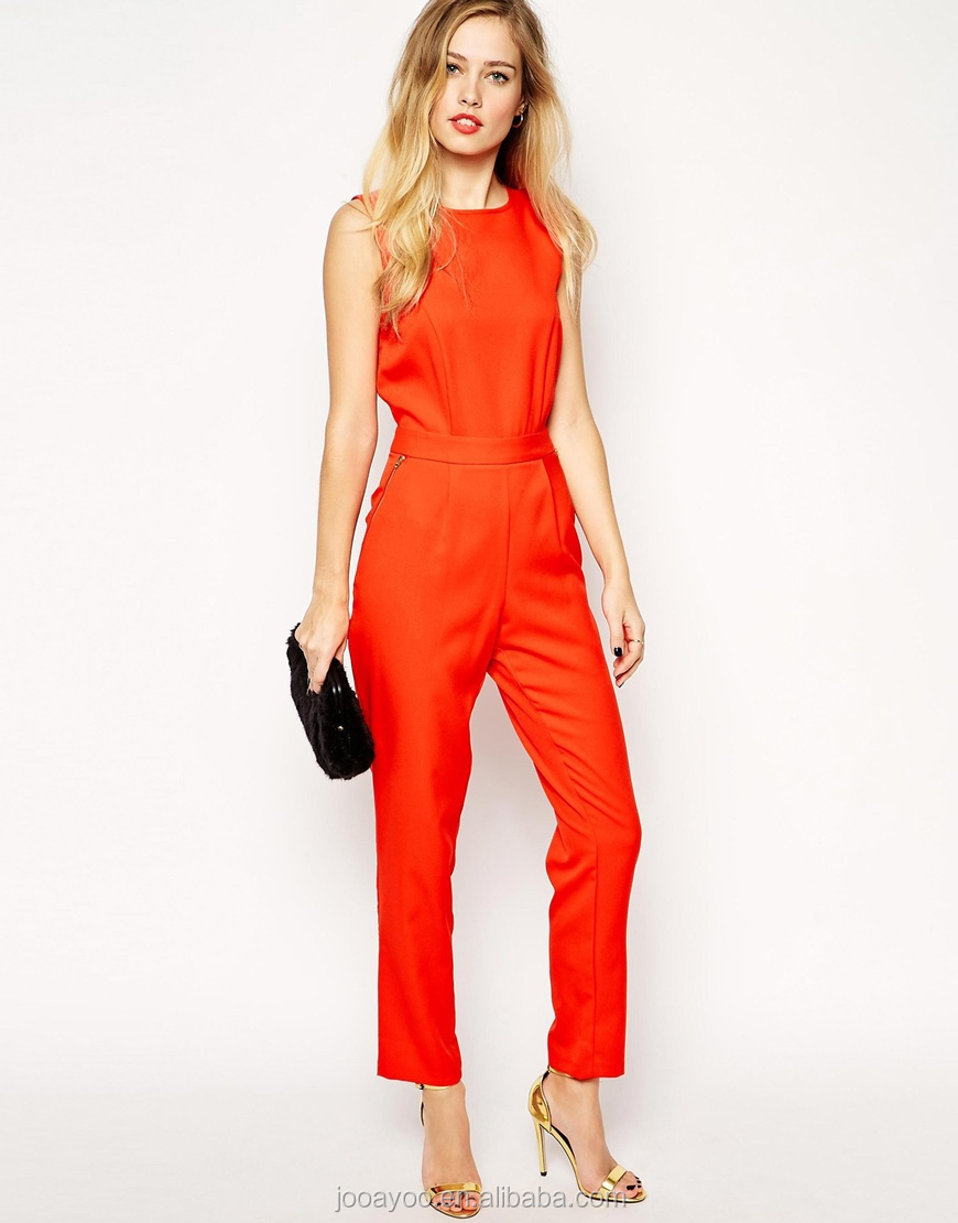 Lastest Details About Boohoo Womens Millie Woven Belted Jumpsuit