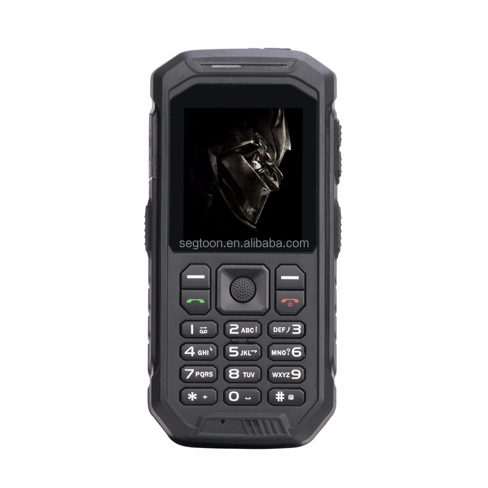 2017 Best Sale 2.4 inch Super High Quality Cheap Rugged Feature Phone With Walkie Talkie