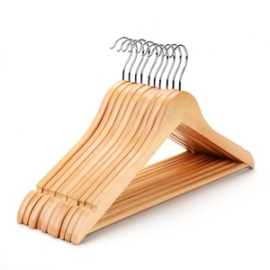 Assessed supplier PENGFEI high quality matt natural wood hanger