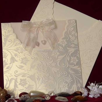 Tbz Design Wedding Invitation Cards African Wedding Lace Fabric Ribbon Wedding Invitation Card Buy Printing Chinese Birthday Invitation Card African