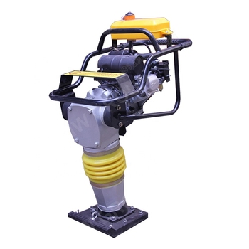 vibrating soil tamping rammer for housing job sites