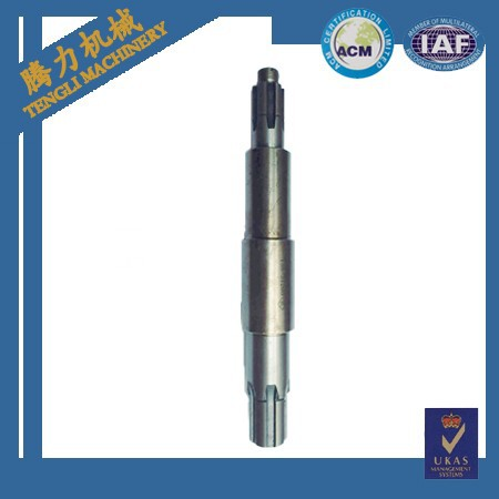 Mechanical Parts Gear Shaft And High Speed Shaft For Gear Box