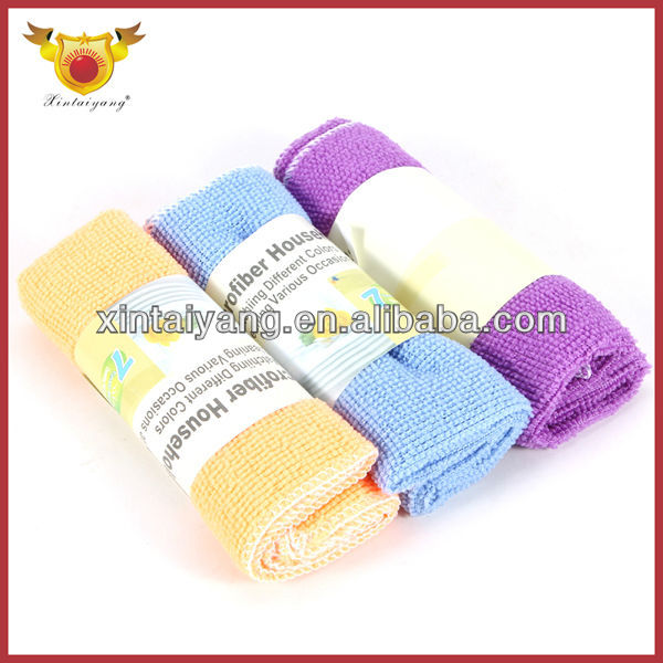 Woman Kitchen Rag Microfiber Towel Home Cleaning Products