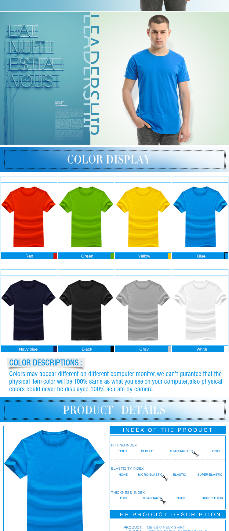 ZheJiang supplier Mens cheap Organic branded basic tee shirt for summer
