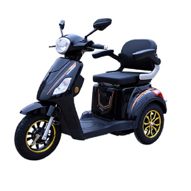 Handicapped Motorized Tricycles for Adults 3 Wheel 1000W Three Electric Scooter 500W