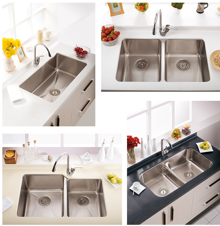 New Design Kitchen Taps Pull Down Kitchen Faucet with Swivel Spout