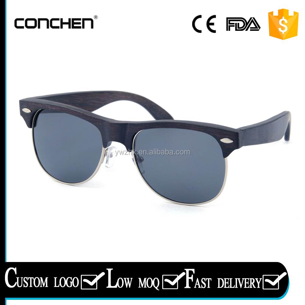 2017 new arrival gafas de sol uv400 unisex polarized lens woodies sunglasses for fishing