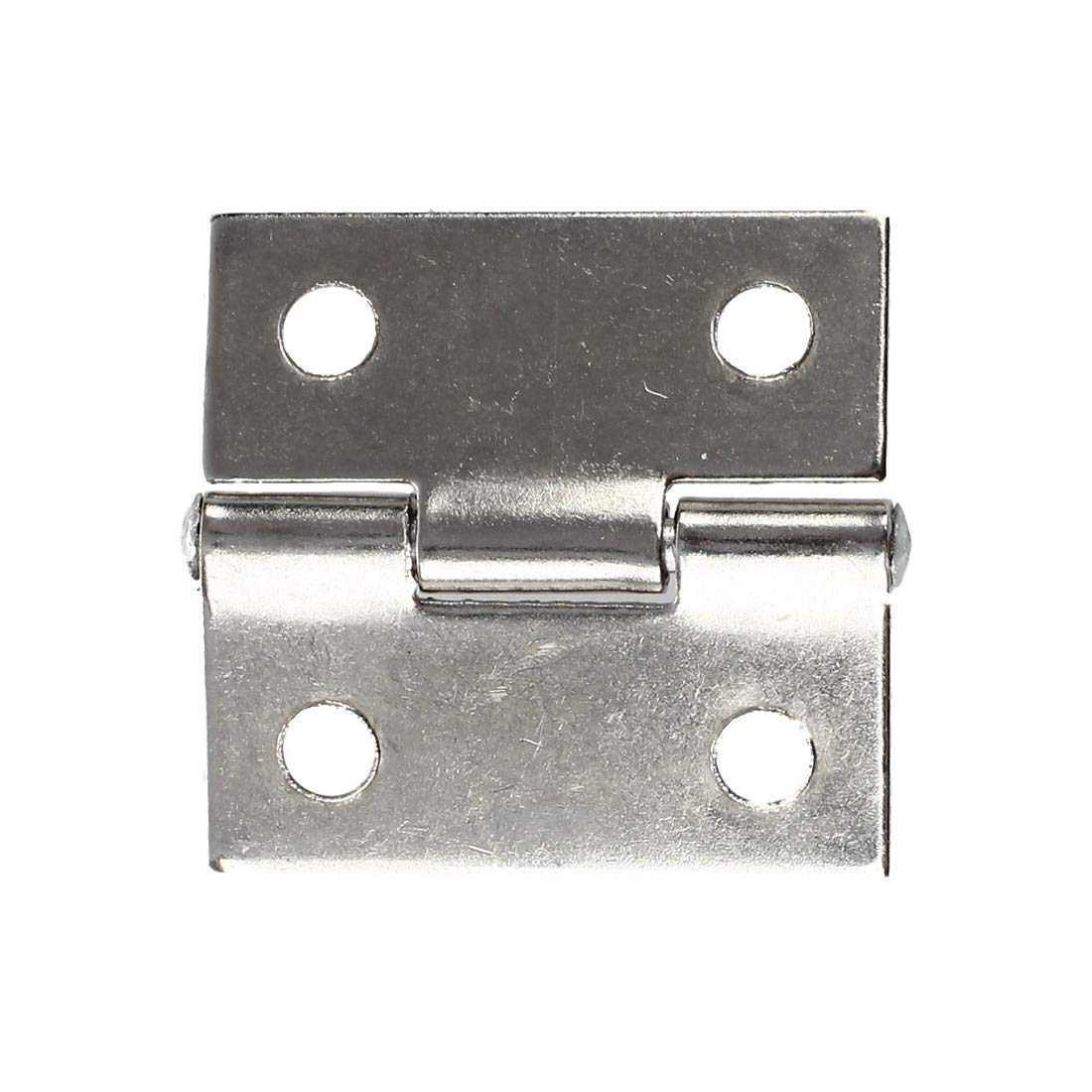 Stainless Steel 316 Butt Hinge without Hole Non-Removable Pin 4 Long 1//4 Pin Diameter 4 Open Width Pack of 1 0.120 Leaf Thickness Unfinished