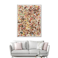 Modern European Style Large Decorative Canvas Wall Painting Abstract Art