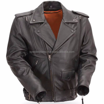Leather Motorbike Jacket LJ0778